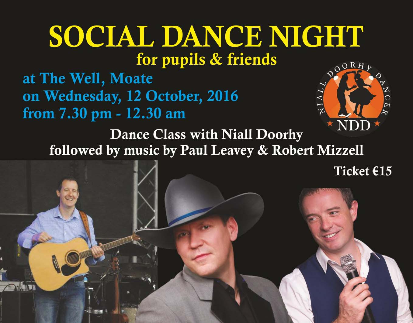 Social Dancing Night At The Well, Moate